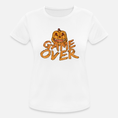 Over The Hill Game Over Gaming Halloween - Women's Sport T-Shirt