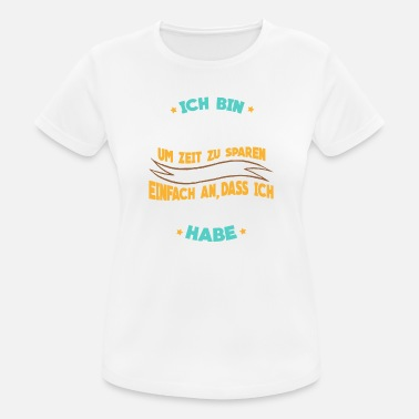 Mountainbiken Mountainbike - Ich bin Mountainbiker - Frauen Sport T-Shirt