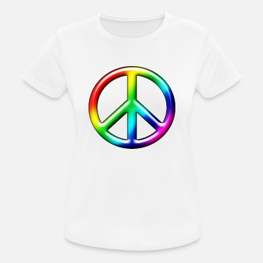 Cnd-sign 3D CND Rainbow - Women's Breathable T-Shirt