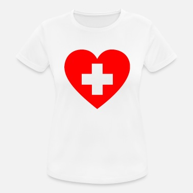 First Aid First Aid Heart - Women's Sport T-Shirt
