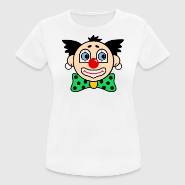 Karneval Party Kostüm Clown - Frauen T-Shirt atmungsaktiv