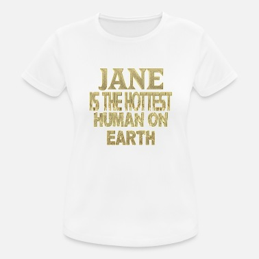 Jan Jane - Dame T-shirt svedtransporterende