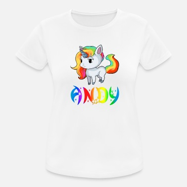 Andy Unicorn Andy - Women's Sport T-Shirt