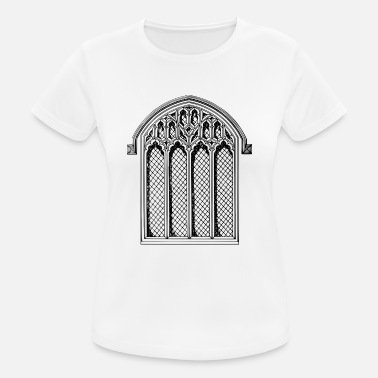 Vicar god god kerk bijbel Bible Church Wedding - vrouwen T-shirt ademend