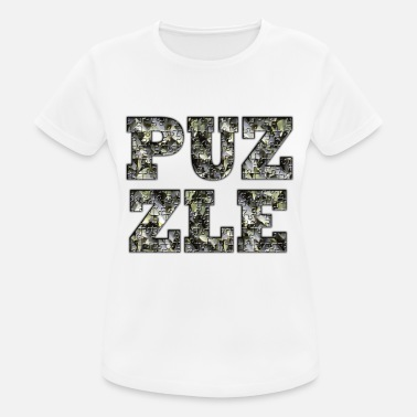 Puzzle PUZZLE - Camiseta mujer transpirable