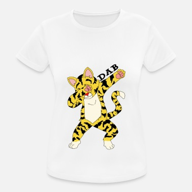 Cheetah Kids Dab Tiger absolute looker gift idea - Women's Sport T-Shirt