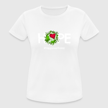 Beautiful Earth TShirt featuring Happy Earth Day - Frauen T-Shirt atmungsaktiv