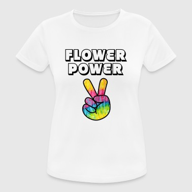 Flower Power - Camiseta mujer transpirable