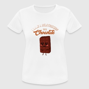 Chocolate Chocolate gift chocolate - Women's Breathable T-Shirt