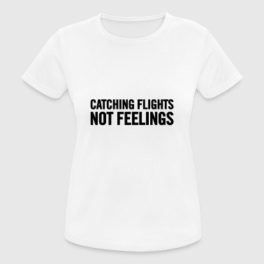 Flight Catching Flights Black - Women's Breathable T-Shirt