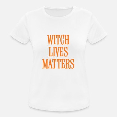 Cheap Trick Witch Lives Matters Orange - Camiseta mujer transpirable