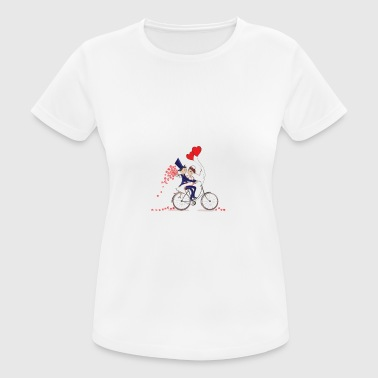 33 Years And Still Enjoying The Ride Anniv Apparel - vrouwen T-shirt ademend