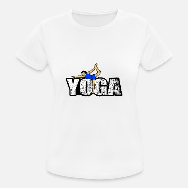 New Age yoga gave new age namaste fred yogi - Pustende T-skjorte for kvinner