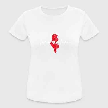 Tunisia - Women's Breathable T-Shirt