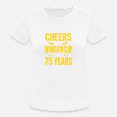 75th Birthday 75th Birthday 75th birthday gift - Women's Breathable T-Shirt