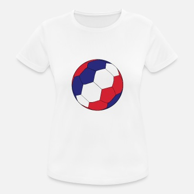 World-cup-2018 France Football World Cup - Women's Breathable T-Shirt