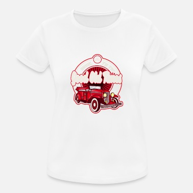 Good Old Times Good old times classic cars - Women's Breathable T-Shirt