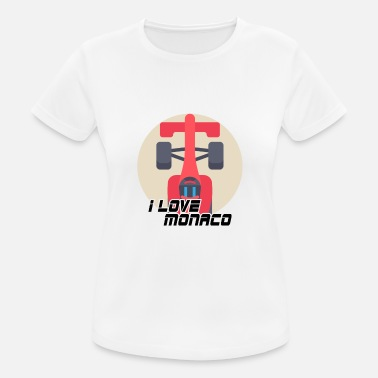 Monaco Monaco - Women's Breathable T-Shirt