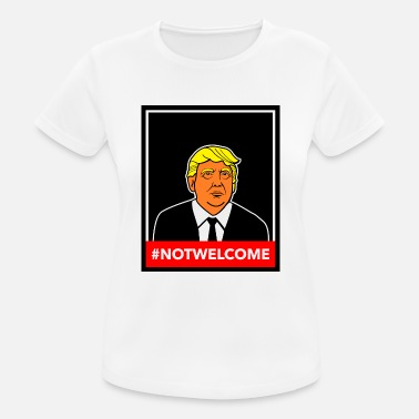 Colour Trump NOTWELCOME Colour - Women's Breathable T-Shirt