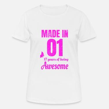 4c9ff9b6303d 17 Års Fødselsdag 17 års fødselsdag for en stor pige - Sports T-shirt dame