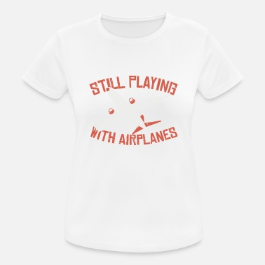 Flight Airplane airport games with aircraft gift - Women's Sport T-Shirt