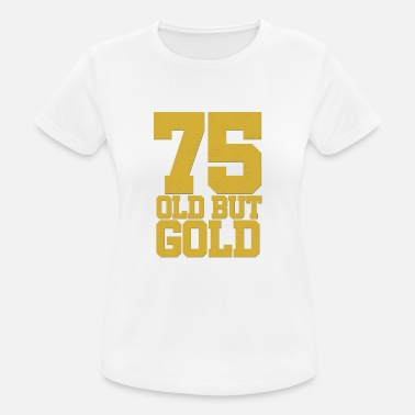 75th Birthday 75th Birthday 75th birthday round anniversary - Women's Breathable T-Shirt