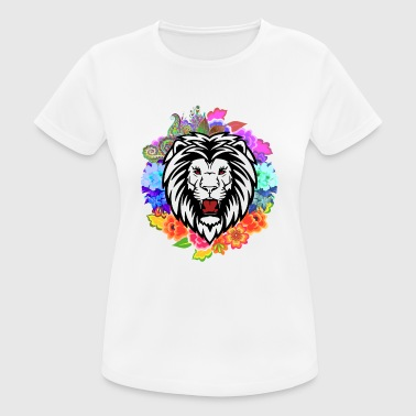 Lion head flowers - Women's Breathable T-Shirt
