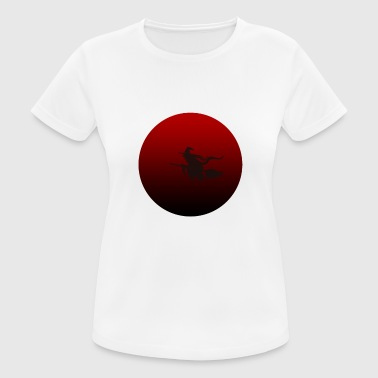 Moon Sprüche blood moon - Frauen T-Shirt atmungsaktiv