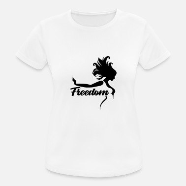 Freedom Peace Freedom Peace Freedom Peace - Women's Breathable T-Shirt