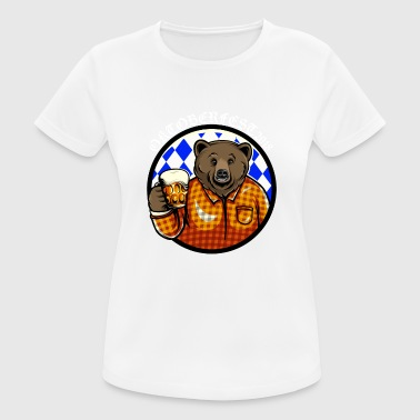 Oktoberfest Bear Shirt - Women's Breathable T-Shirt