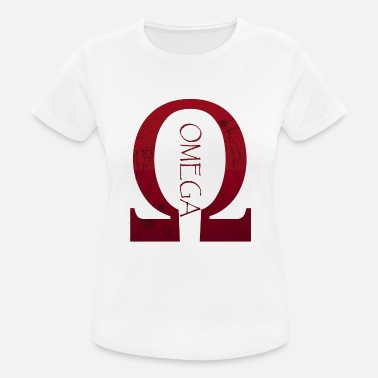 Omega omega - vrouwen T-shirt ademend