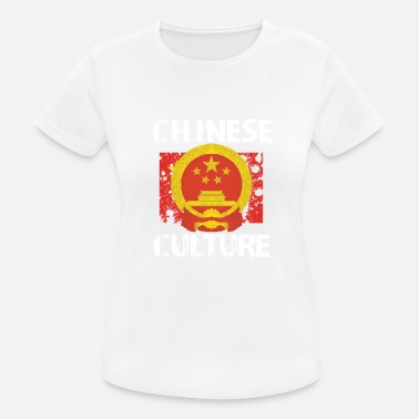 Polices Chinoises Culture chinoise - T-shirt respirant Femme
