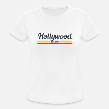 Hollywood California Vintage Hollywood California - Women's Breathable T-Shirt