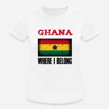 Kumasi Ghana Where I Belong | Accra Kumasi gift idea - Women's Sport T-Shirt