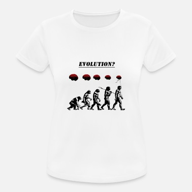 Evolution Evolution? - Women's Breathable T-Shirt