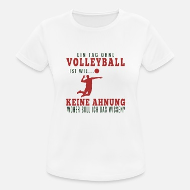 Volley Volleyballer Shirt · Volley Club · Volley Geschenk - Frauen Sport T-Shirt
