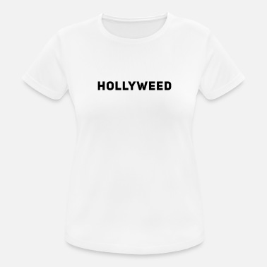 Hollyweed - 420 Pothead Chiller Stoner Gras Weed - T-shirt sport Femme