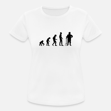Dynggrep Farmer Evolution Gift Farm Farmer Rolig - Sport T-shirt dam