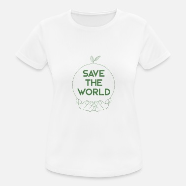 Save The World SAVE THE WORLD - Women's Sport T-Shirt