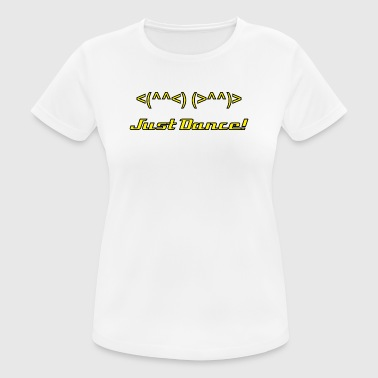 Just Dance - vrouwen T-shirt ademend