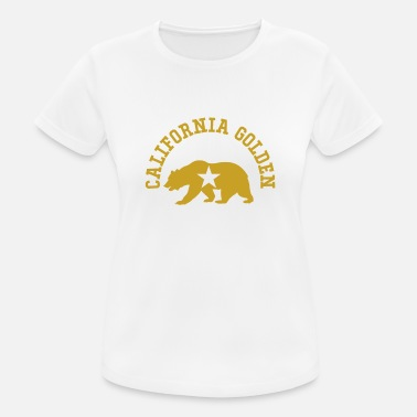 Golden State Californie Golden State Ours - T-shirt sport Femme