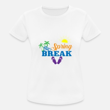 Flip Flops Spring Break T-Shirt - Women's Sport T-Shirt