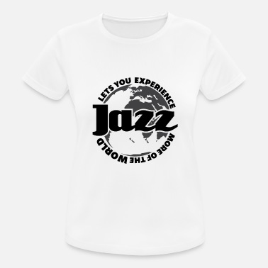 Jazz Jazz Hot Jazz Music Musician Jazz music trumpet player - Women's Sport T-Shirt