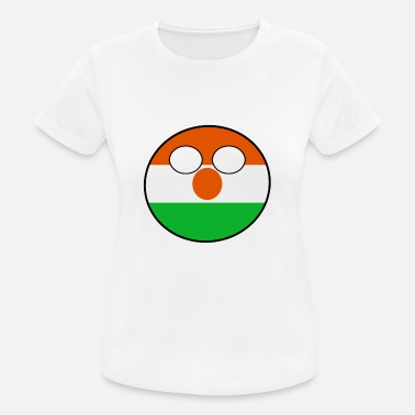 Countryball Countryball Country Home Niger - Women's Breathable T-Shirt