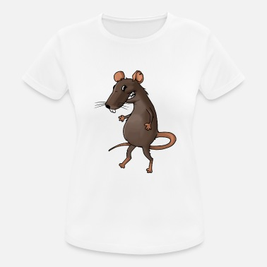 Vermin Fiese rat rodent vermin rodent mouse - Women's Breathable T-Shirt