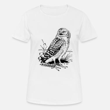 Gezeichnete Eulen Gezeichnete Eule Geschenk Geschenkidee - Frauen T-Shirt  atmungsaktiv 809c6eb59f