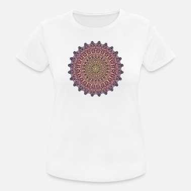 Mandala Sunset - Women's Breathable T-Shirt