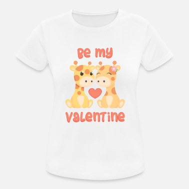 Be My Valentine Be my valentine - Vrouwen sport T-shirt
