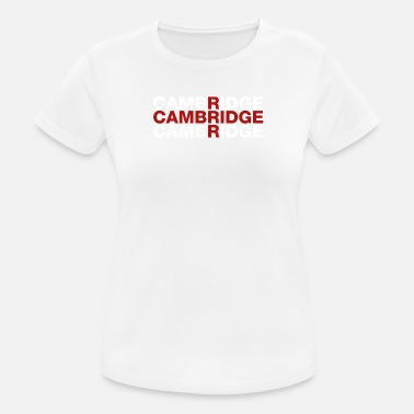 Cambridge Cambridge United Kingdom Flag Shirt - Cambridge - Women's Breathable T-Shirt