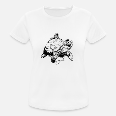 Space Turtles space turtle - Frauen Sport T-Shirt